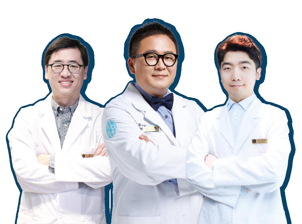 3人の整形外科医師たち